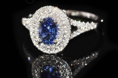 78ct-Sapphire-62-Diamonds-equal-to-.39cts-all-set-into-18ct-White-Gold