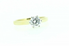 18ct gold Classic Solitaire