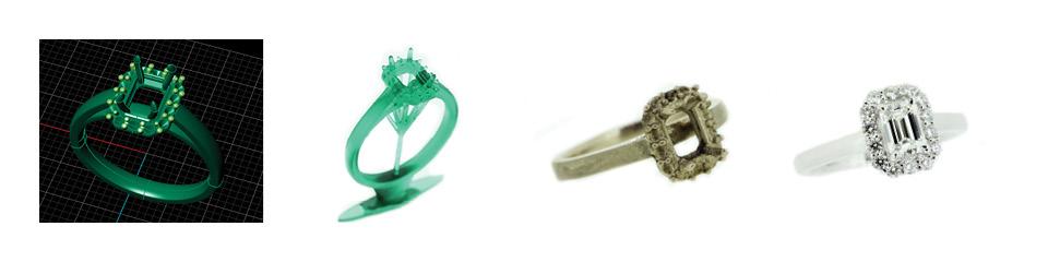Custom Made Jewellers In Brisbane & 3D Jewellery Scans & Printing