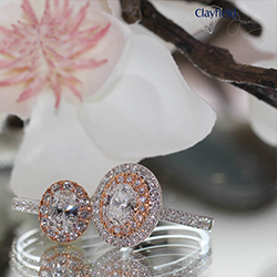 rose gold engagement rings brisbane