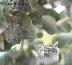 18ct White Gold Ring containing .477ct