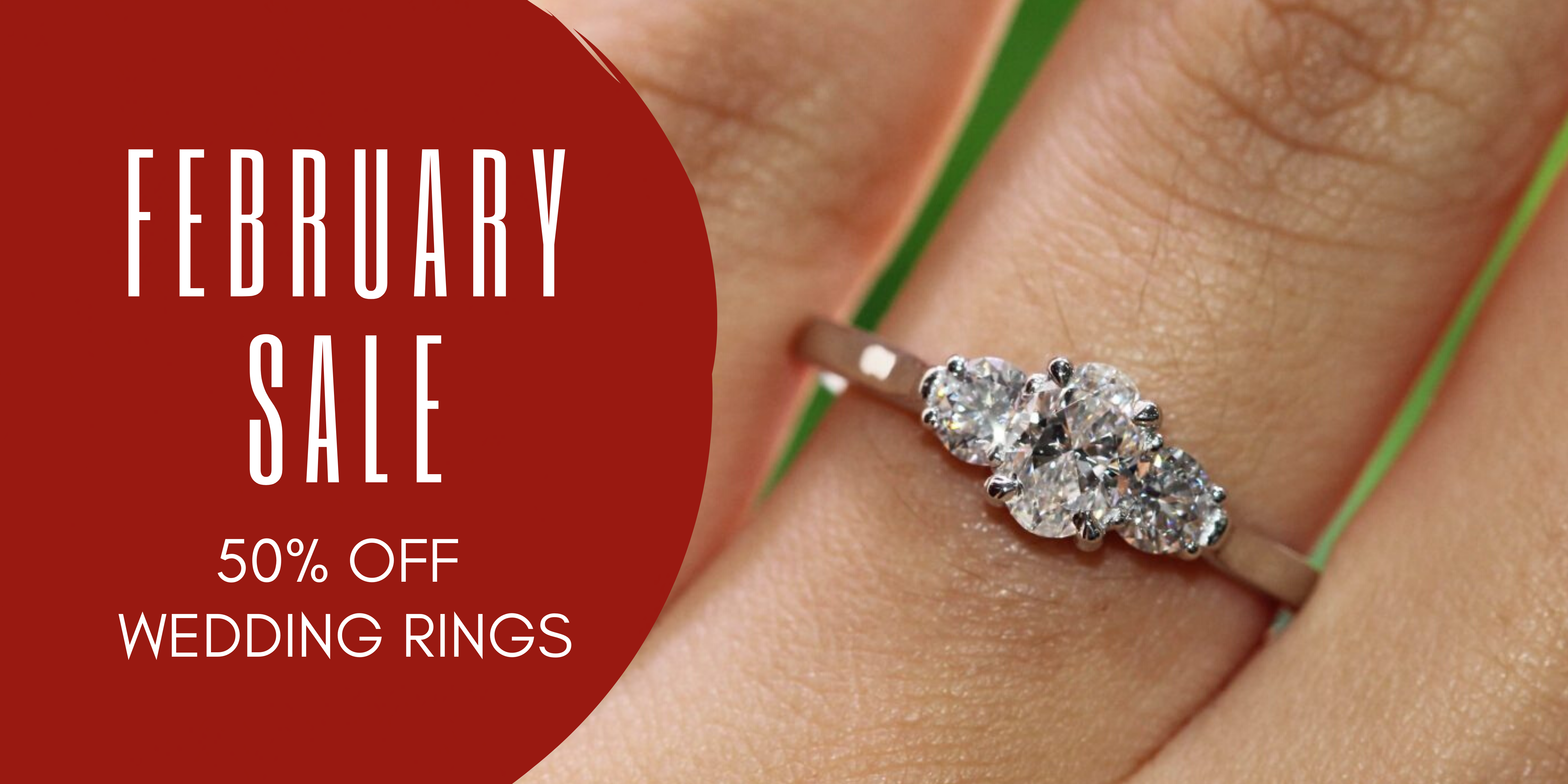clayfield jewellery 50% off wedding rings