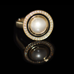 clayfield jewellery pearl ring