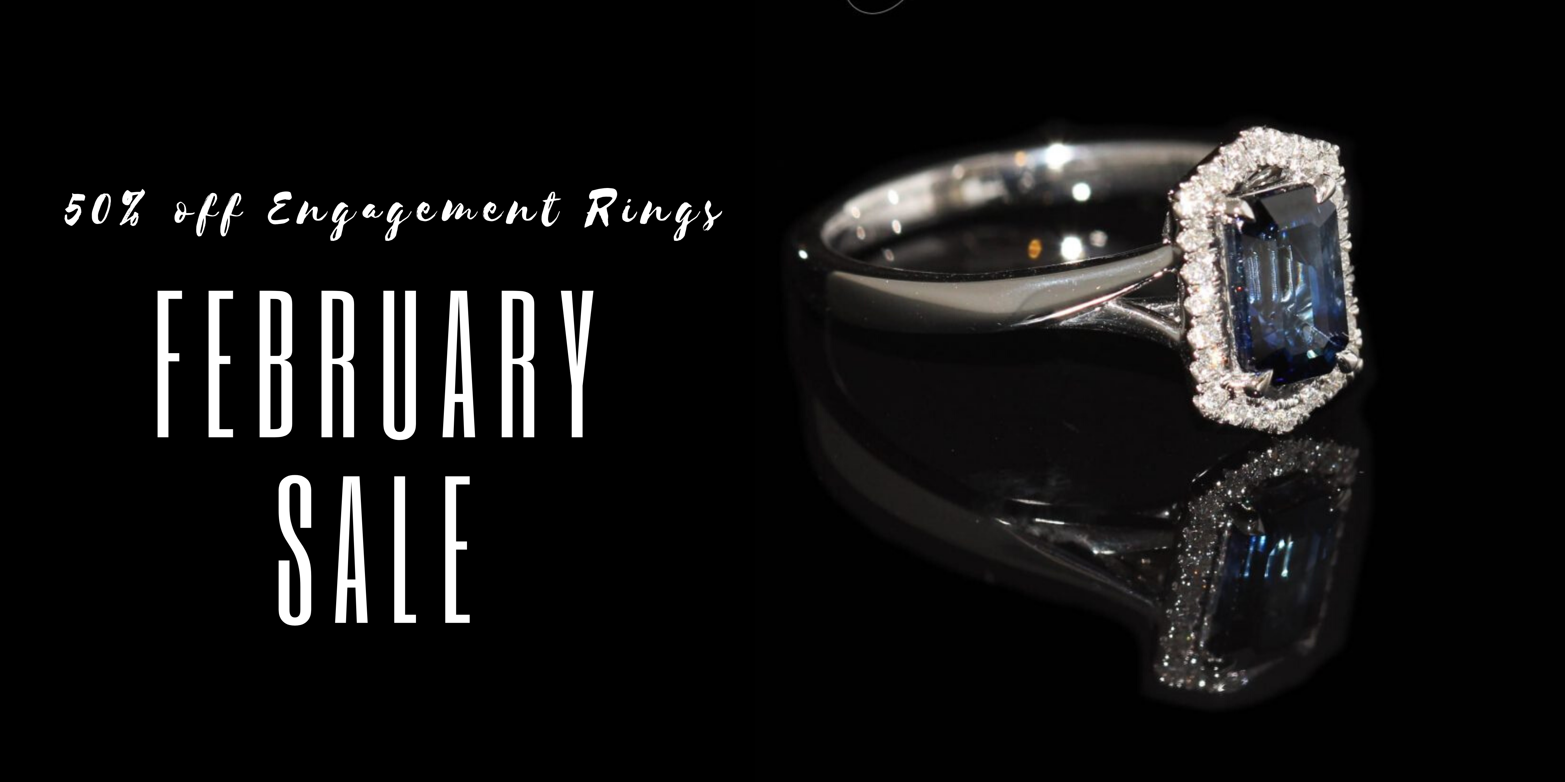clayfield jewellery 50% off engagement rings