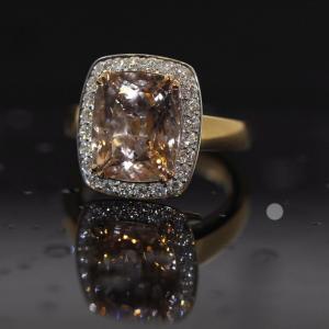 clayfield jewellery morganite ring