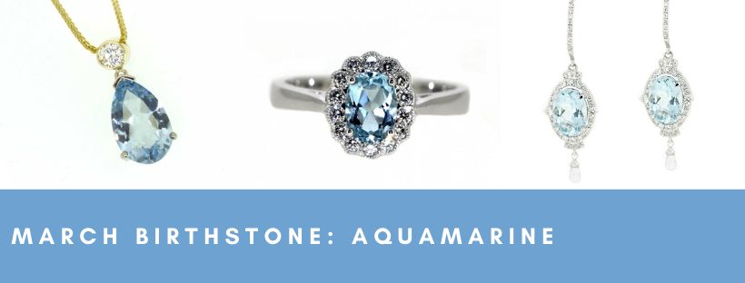 clayfield jewellery birthstone aquamarine