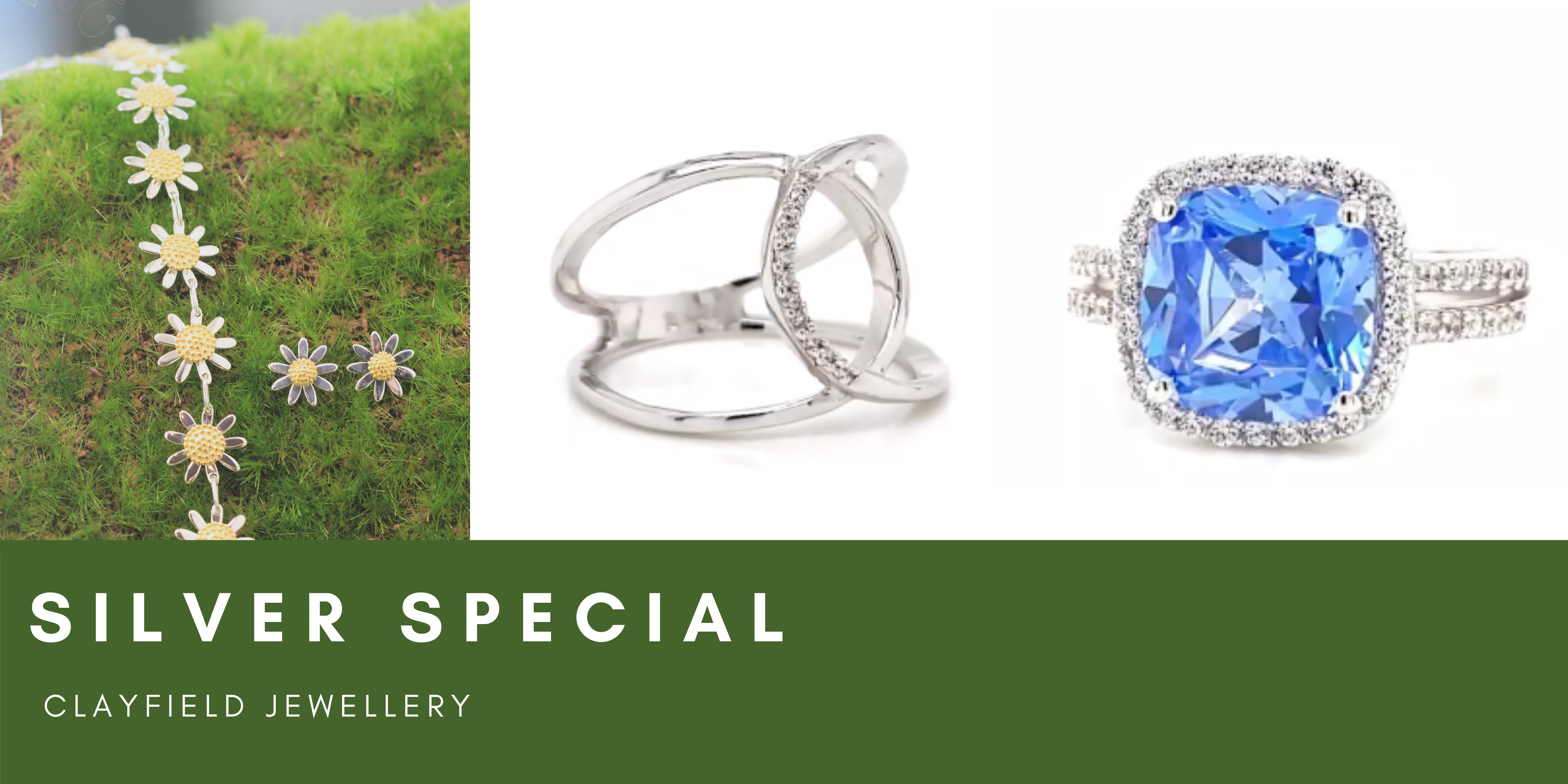 clayfield jewellery 50% off sterling silver