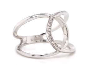 sterling silver diamonds ring clayfield jewellery