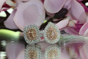 clayfield jewellery diamond and pink diamond rings