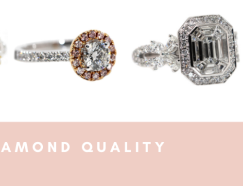 What are the 4 C's in Diamond Quality?